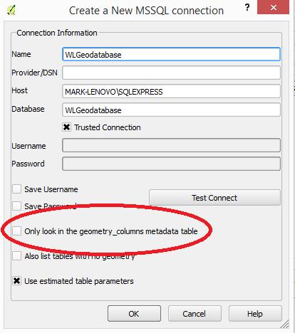 QGIS-SSMS-Connection