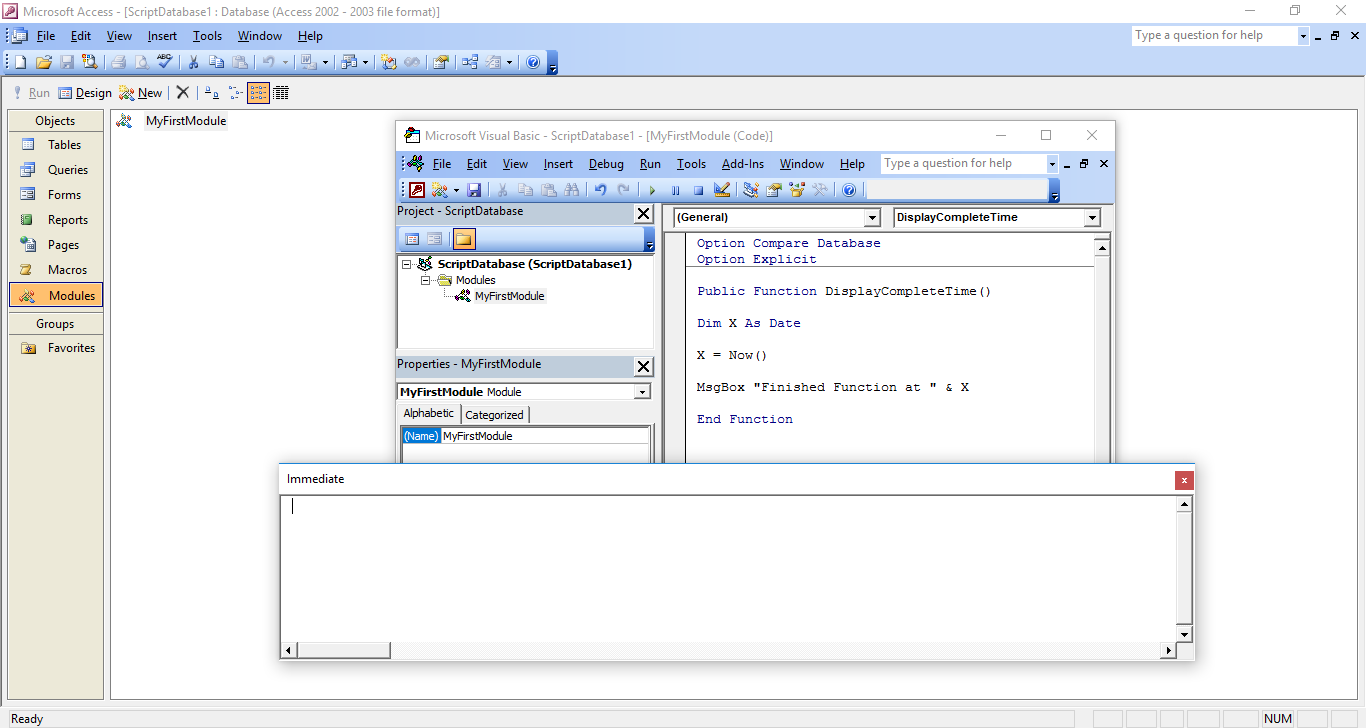 VBA Code MS Access – Round Up the Usual Suspects