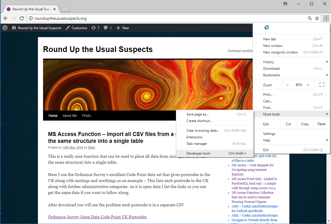 Chrome – Round Up the Usual Suspects